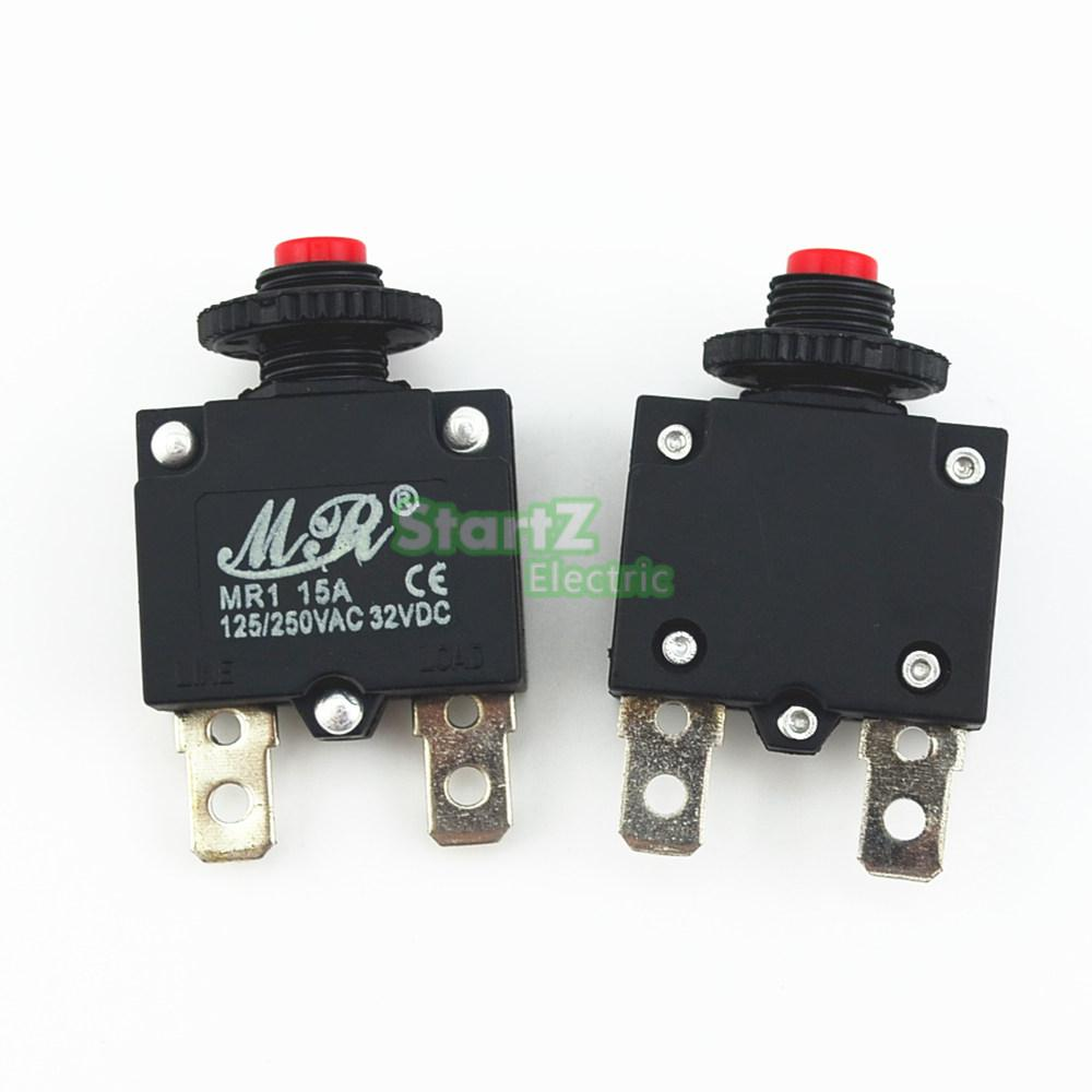 10pcs 15a circuit breaker overload protector switch fuse in fuses from home improvement on aliexpress com alibaba group [ 1000 x 1000 Pixel ]