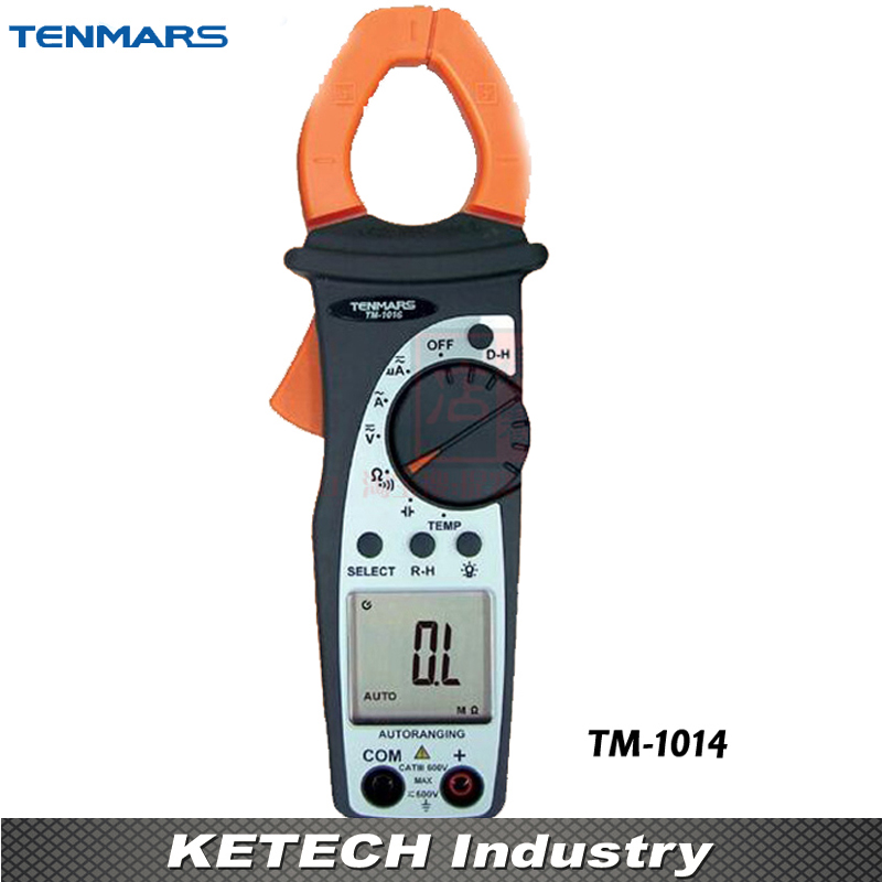 Analogue Bargraph 400A Autotanging AC Clamp Meter Tester TENMARS TM1014