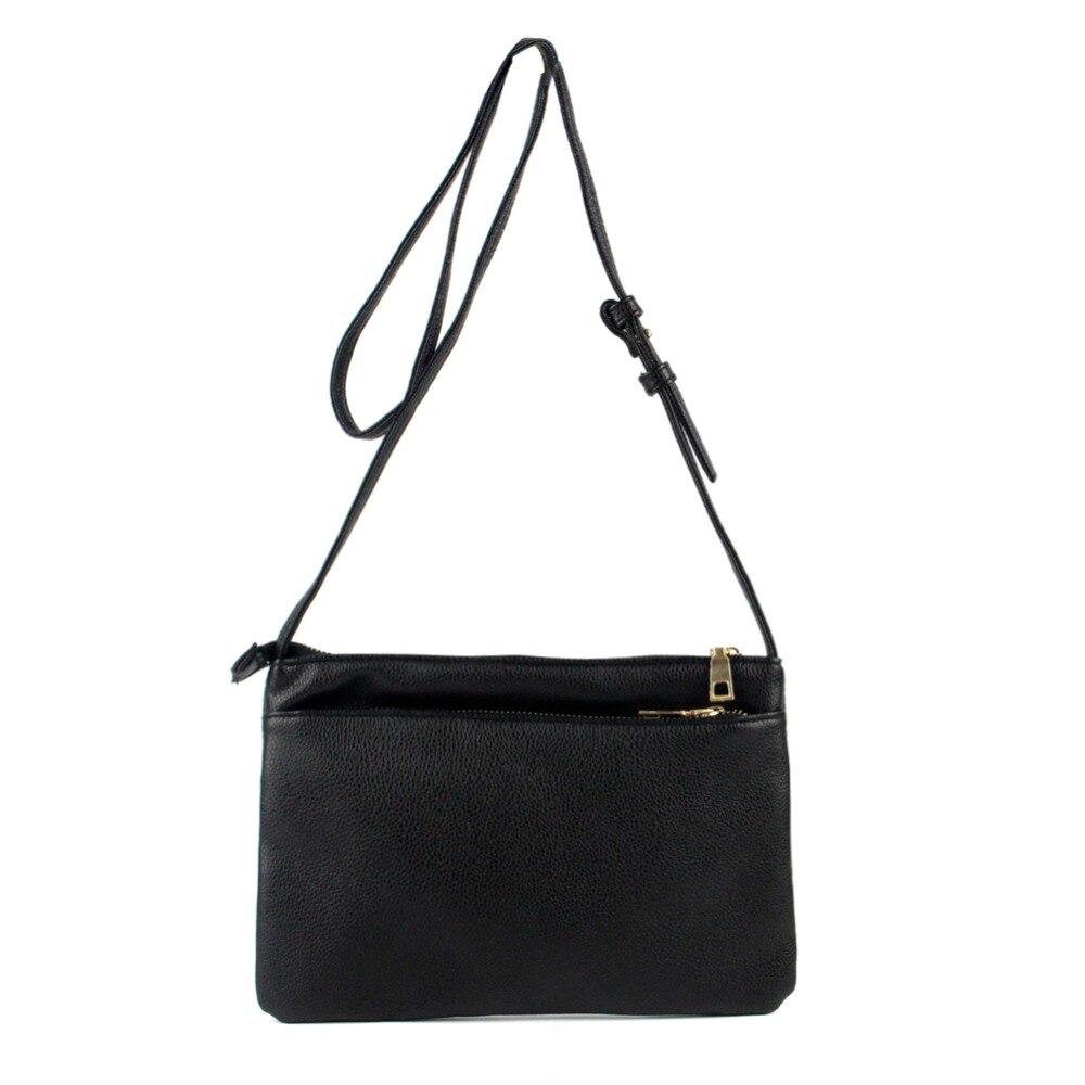 Fashion Women Envelope Clutch Messenger Bag Famous Brand Thin Crossbody Bags Brief PU Leather Shoulder Bag Handbag Bolsos