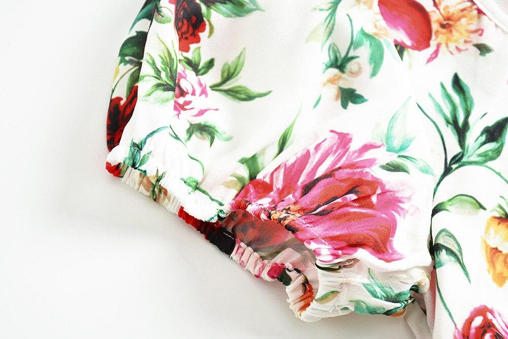 Picture Vintage Nouveau Femme Robe Été Gratuite Livraison Slim Col Imprimé 2018 Élégant Fleurs V Courtes Midi Manches Sirène S À Color xl tRtwrOqd