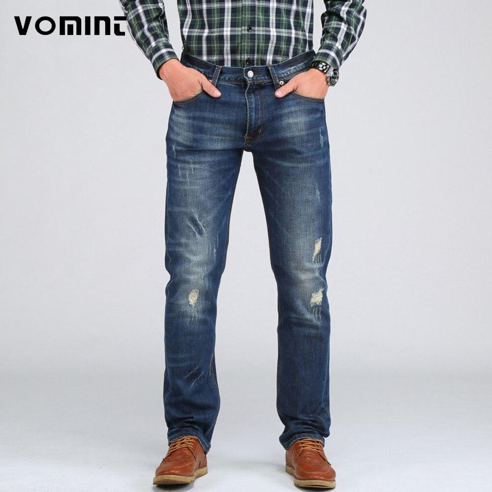 vomint new 2017 men 39 s casual elasticity jeans slim regular fit nice cutting perfect details plus. Black Bedroom Furniture Sets. Home Design Ideas