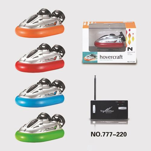 2016 Hot Sale New Arrival 4 Color Mini Micro I/R RC Remote Control Sport Hovercraft Hover Boat Toy 777-220 Children Best Gift