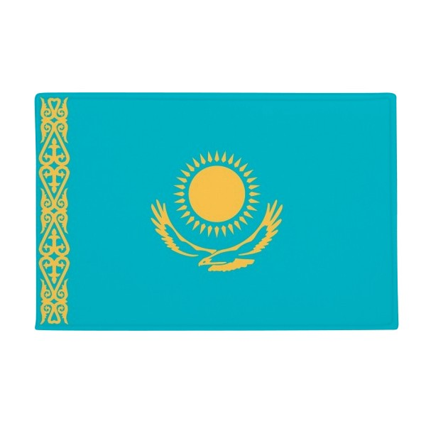 Kazakhstan National Flag Asia Country Anti-slip Floor Mat Carpet Bathroom Living Room Kitchen Door 16x30Gift