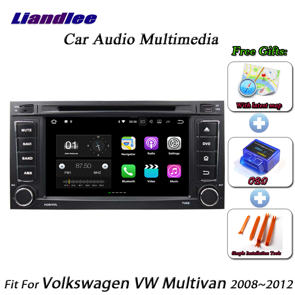 Liandlee Car Android System For Volkswagen VW Multivan 2008~2012 Radio CD DVD Player GPS Nav Map Navigation HD Screen Multimedia