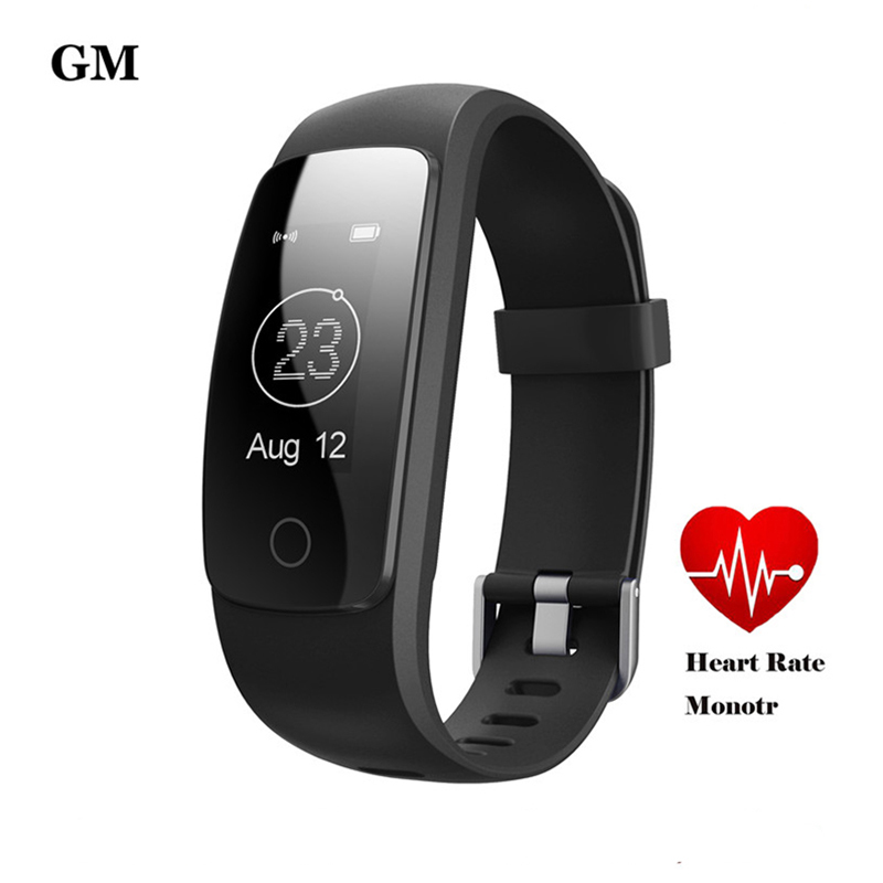 ID107 Plus Smart Band Bracelet Heart Rate Pedometer Sleep Fitness Tracker IP67 Waterproof Smartband For Android