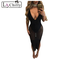 Dear Lovers Golden Lace Patchwork Black Tulle Short Party Dress Sexy One Shoulder Wrap Special Dresses
