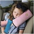 Caliente la venta niños niños bebé Auto almohada cinturón de seguridad del coche almohadilla de cinturones de vehículos cojín infantil Cradler reposacabezas del vehículo