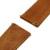 20mm banda reloj de cuero genuino correa de liberación rápida para motorola moto 360 2 42mm hombres 2015 reemplazo de pulsera pulsera marrón