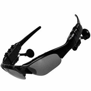 Image 5 - 블루투스 선글라스 야외 스마트 안경 블루투스 선글라스 스마트 폰용 마이크가있는 무선 헤드셋 스포츠