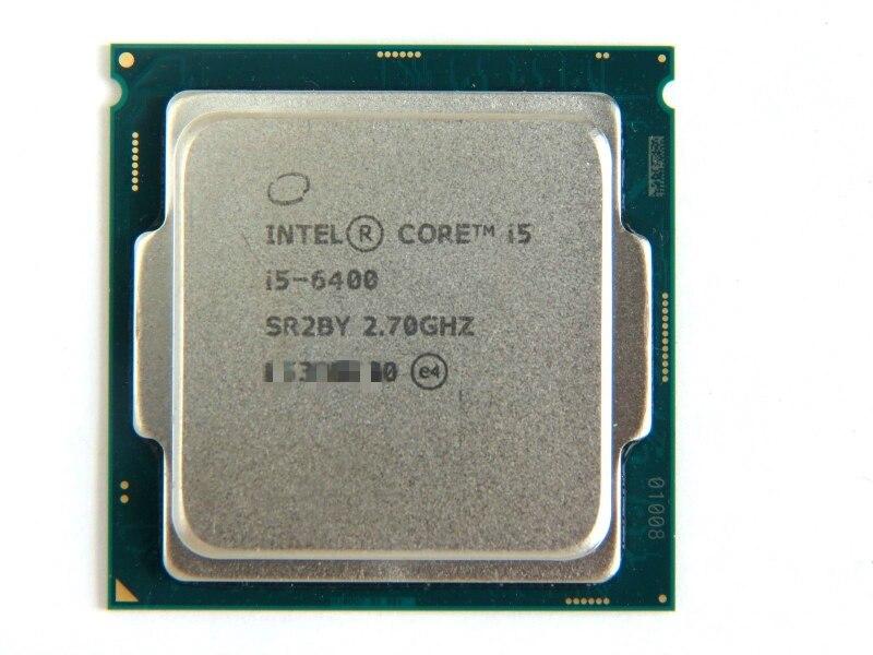 Intel Core i5 6400 Quad core 2 7GHz 3 3GHz Max 6MB Cache LGA1151 CPU Processor