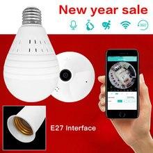 SDETER Bulb Lamp Wireless IP Camera Wifi 960P house cameras