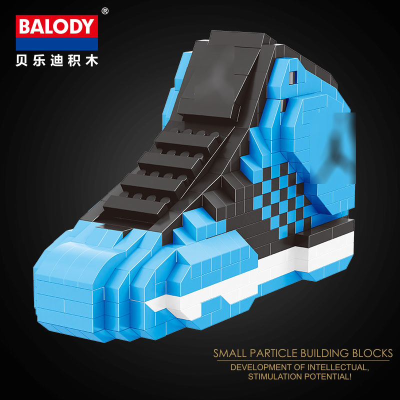 2019 20 different sport Basketball shoes air jordan brick aj XI XIII III  assemable model diamond building block toy collection-in Blocks from Toys    Hobbies ... 7b18f30dc