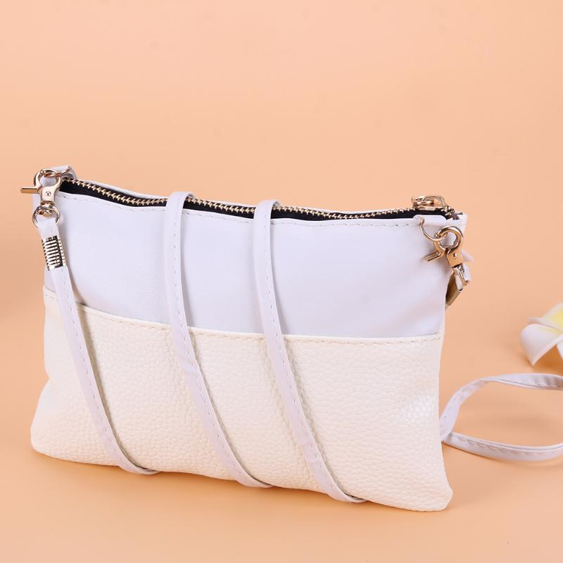 New PU Leather Women Small Messenger Bag Sling Shoulder Bags Fashion Female Shoulder Crossbody Bags Women Mini Clutch Handbags