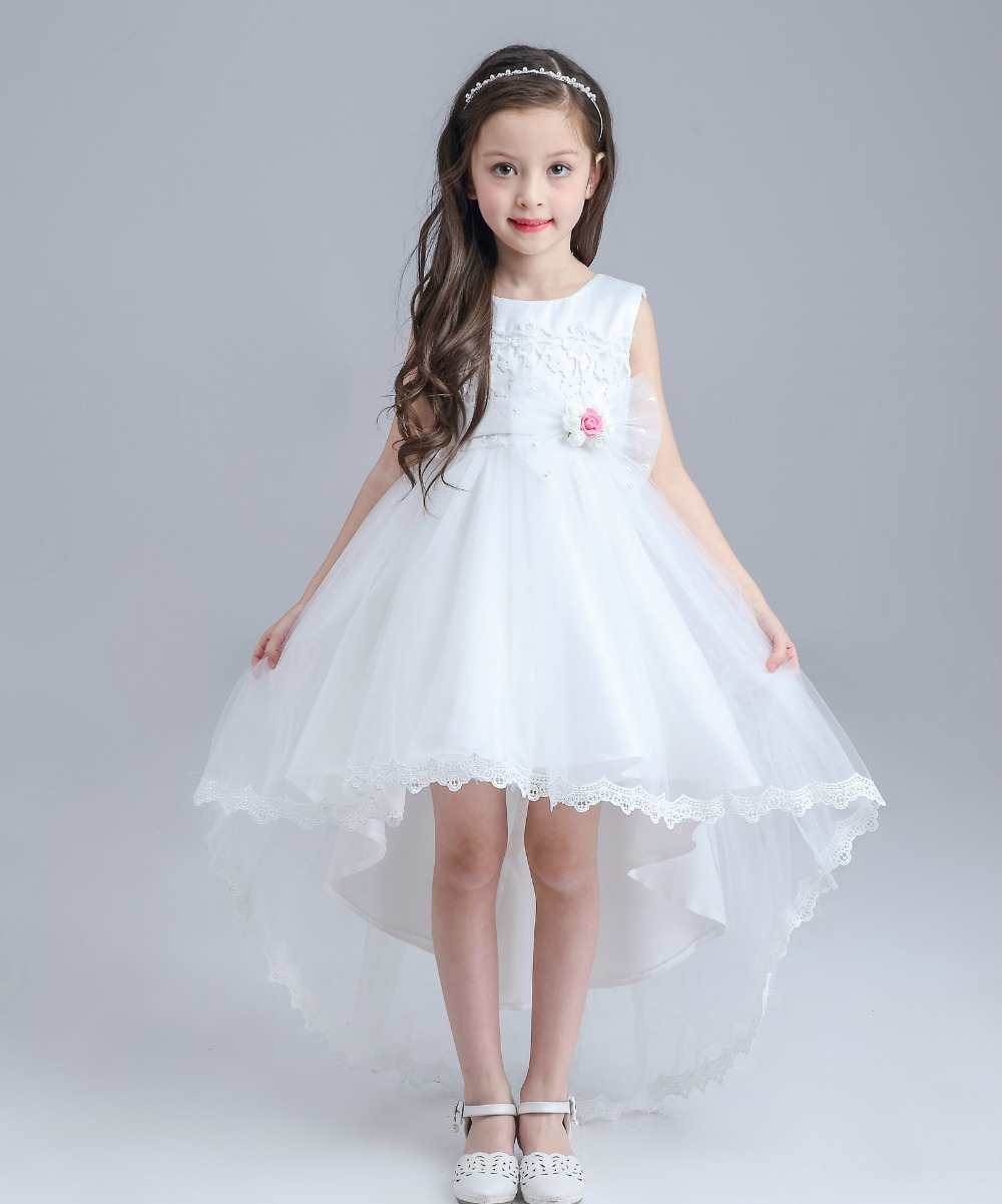 2017 Teenage Girls Kids Prom Dress Evening Formal Gown Girls Clothes ...