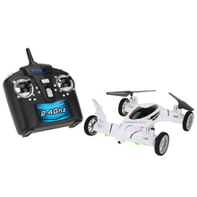 Original SY X25 2.4G 4CH 6 Axis Gyro Air-Gronud RC Flying Car Drone without Camera 360 Degree Flips Auto Return Dron VS X9