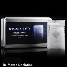 Re-Maxed Iceolation (DVD + Gimmick) Magic Tricks Fun Stage Magia Signed Card into Ice Magie Mentalism Illusion Gimmiick Props недорого