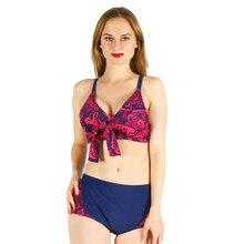 a1aa2f3591b09d Bikini wowen stroje kąpielowe sexy strój kąpielowy drukowane sexy strój  kąpielowy niski stan halter koronki duży rozmiar duży ku.