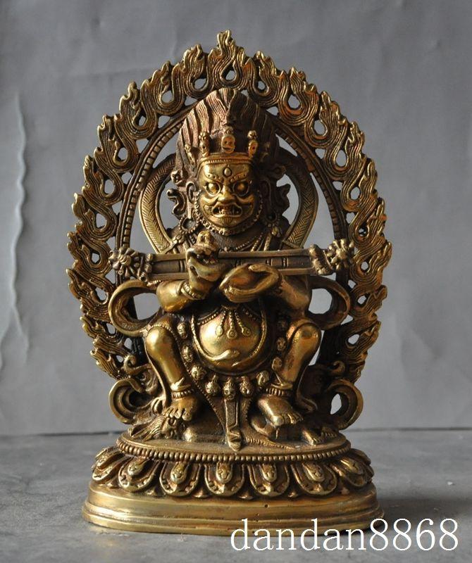 Crafts statue old tibet buddhism bronze gilt fane temple phurpa Gonpo Mahakala buddha statue halloweenCrafts statue old tibet buddhism bronze gilt fane temple phurpa Gonpo Mahakala buddha statue halloween