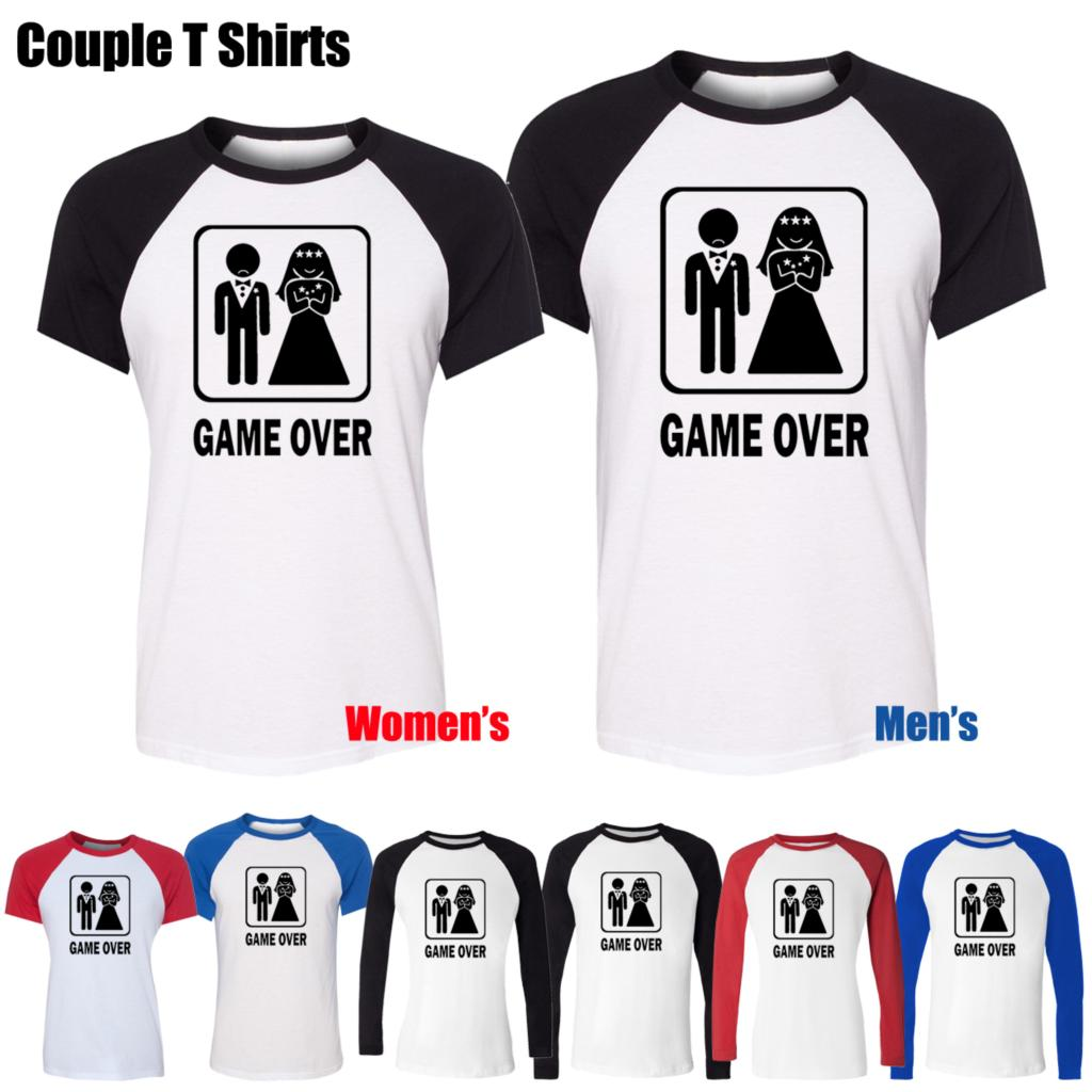 Design t shirt games - Game Over Funny Wedding Stag Hen Night Bride