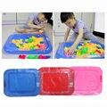 2017 inflable castillo bandeja de arena mesa de arena niños indoor play barro arena juguete feb17_30