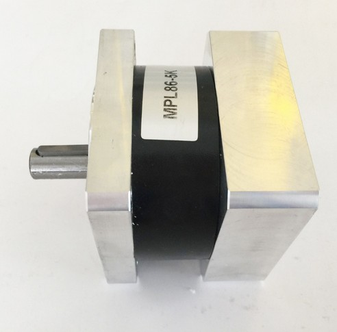 2pcs/lot 50: 1 NEMA34 planetary reducer for NEMA 34 stepper motor 50N. M (6944oz-in) Rated torque 14 mm input and 16 mm output 2pcs lot high torque planetary gearbox is a no 17 stepping motor 788 oz in 15 1 20 1 25 1 with a 34 mm motor body length