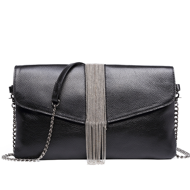 Genuine Leather Women Messenger Bags Day Clutch Purse Casual Small Shoulder Bag For Girl Female Chain Handbags Wristlet Bolsa dachshund dog design girls small shoulder bags women creative casual clutch lattice cloth coin purse cute phone messenger bag