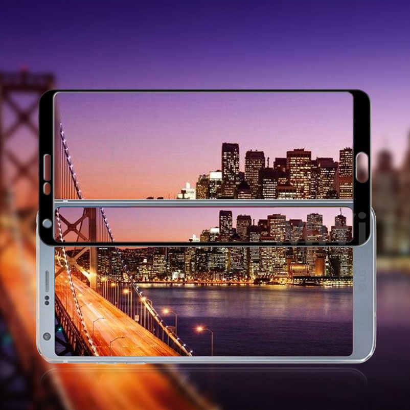 9H pełna hartowana obudowa szklany ochraniacz ekranu dla LG V30 Plus V30 + G5 K10 2016 2017 G7 ThinQ G6 V20 Q6 V10 Film skrzynki pokrywa