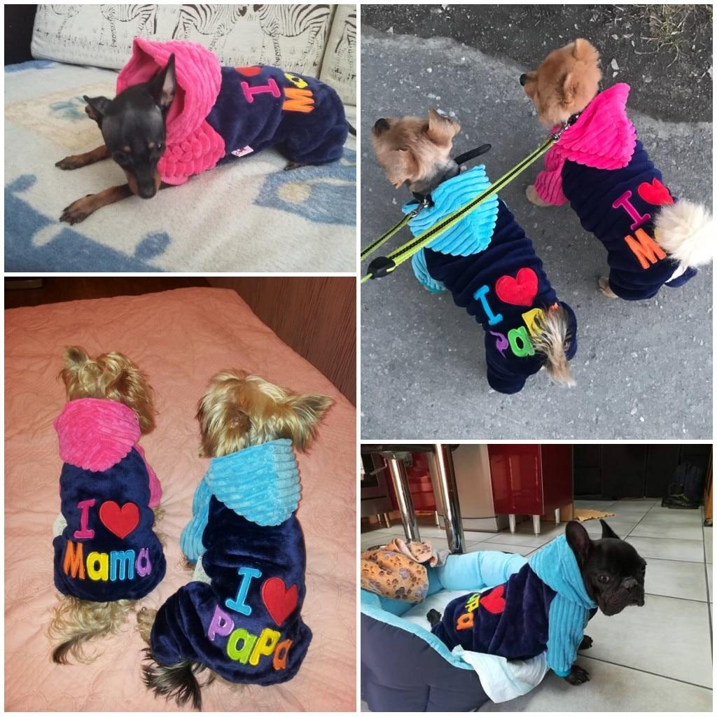 Soft Fleece Dog Cat Jumpsuit Halloween Coat Costumes Pet Overalls ...