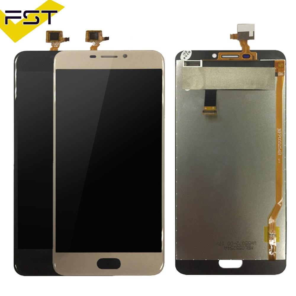 Noir/Or 5.5 pouce Pour Ulefone Gemini LCD Display + Écran Tactile 100% Testé Écran Digitizer Assemblée Remplacement