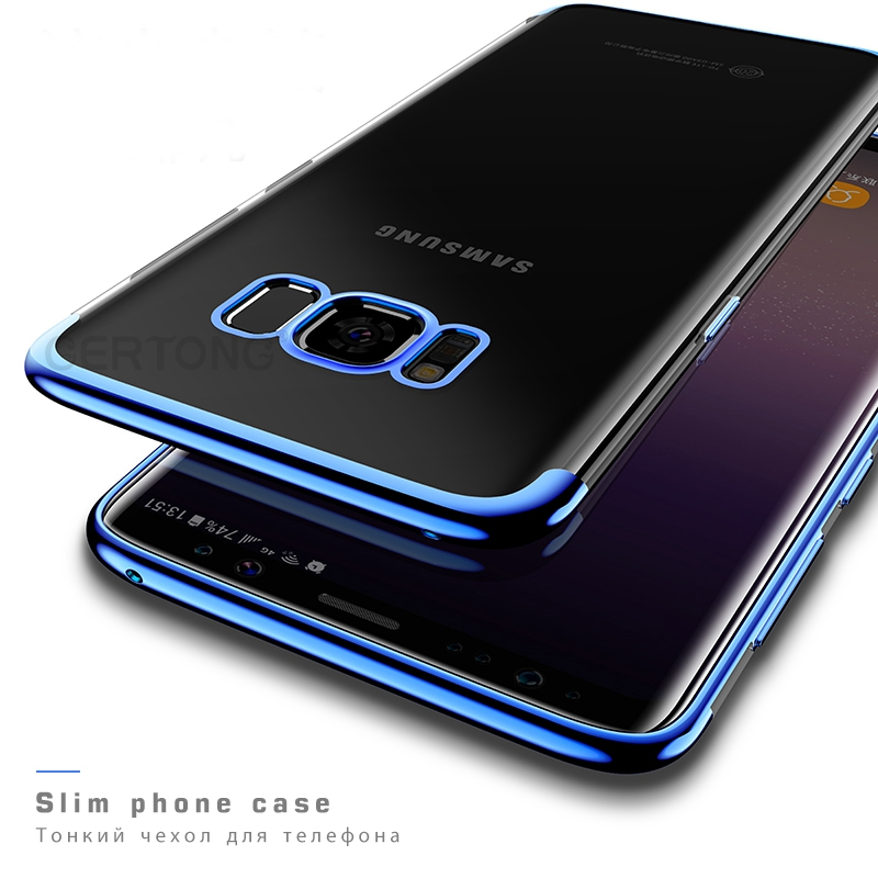 for samsung galaxy note9 note8 case soft laser plating coque cover for samsung a7 a5 2017 j7 j5
