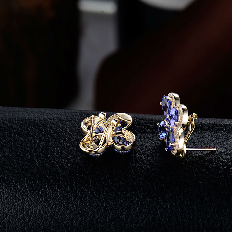 Loverjewelry Στερεό 14k πραγματικό κίτρινο - Κοσμήματα - Φωτογραφία 4