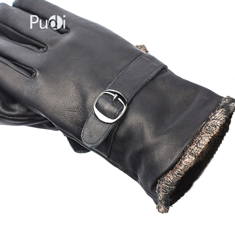 Guantes de cuero genuino GL7002 para hombre, guantes de cuero de - Accesorios para la ropa - foto 4