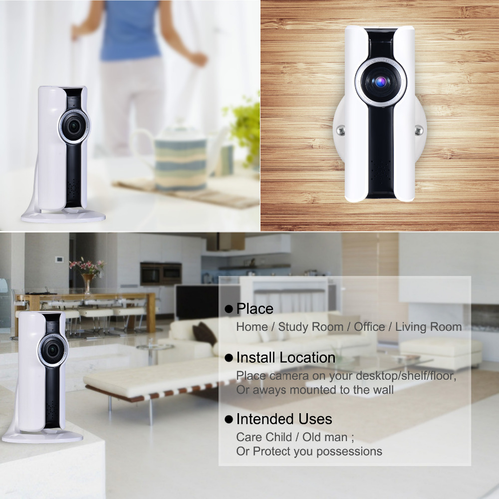 Home Network Security Appliance New Mini Wifi Vr Ip Camera Wireless 960p Hd Smart 180 Panoramic
