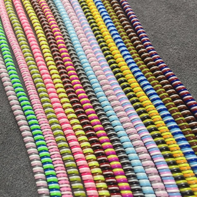 1.5M Cable protector Bobbin winder Data Line Case Rope Protection Spring twine For Iphone5 6 6plus Android USB earphone Cover