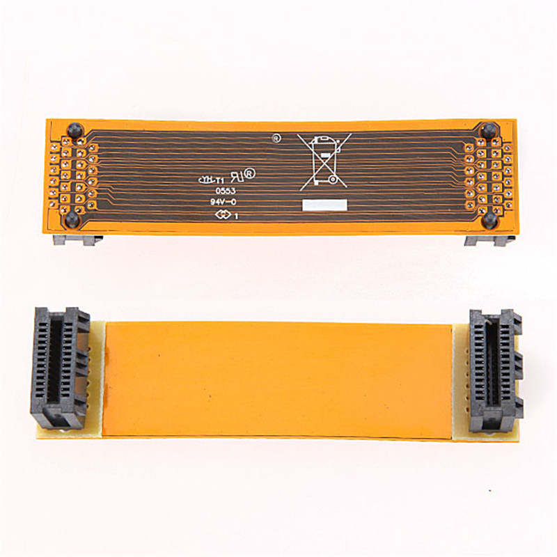 High Quality Flexible 8cm 80mm 3 SLI Bridge PCI-E Cable Video Card Connector Adaptor For ASUS Nvidia Flex Cable