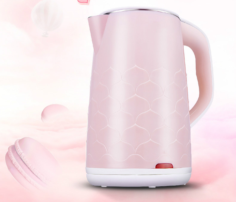 Electric kettle 304 stainless steel food grade automatic power prevent the drying cooking water kettles Overheat Protection free shipping automatic electric food grade 304 stainless steel electric kettle hot insulation automatic prevent parch