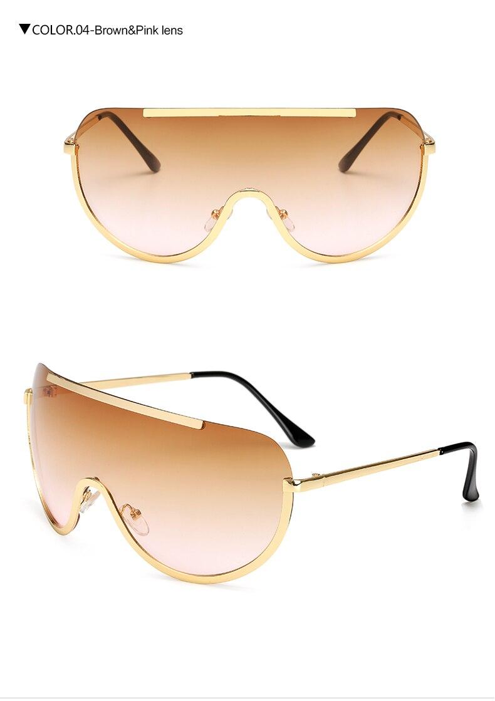 Brown Pink Lens
