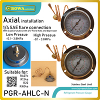 1.8MPa and 3.8MPa pressure gauge are working as Refrigeration & Heat Pump Systems' pressure and temperature Monitor