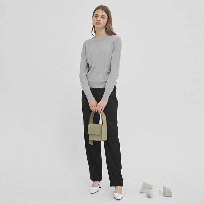 Stile Sacchetto Di Nuovo brown Caramella Coreano Femminile Lusso Famose Green Per Semplice Della Donne Marca Delle Borse Colore 2019 Le Spalla Macaron Del x5Y5BXqw7