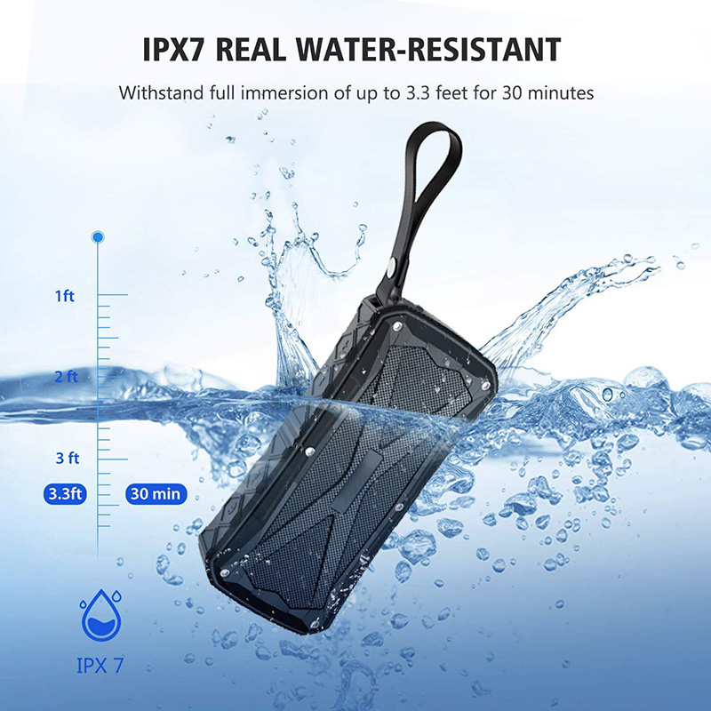 Portable Bluetooth Speakers  20W Loud Speaker IPX7 Waterproof Outdoor Speakers for Apple  Xiaomi Travel/Party/Beach/Biking/Showe|Portable Speakers| |  - title=