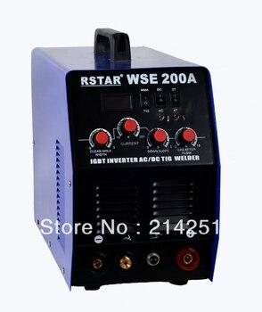 цена на WSE-200 INVERTER IGBT technology AC/DC TIG welder and ARC welding machine free shipping
