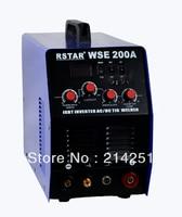 WSE 200 INVERTER IGBT technology AC/DC TIG welder and ARC welding machine free shipping