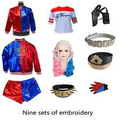 Отряд Самоубийц Харли Квинн Монстр футболка 2016 Харли Квинн косплэй костюм для женщин