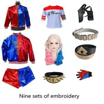 Suicide Squad Harley Quinn Mostro T Camicia 2016 Harley Quinn Cosplay del Costume Delle Donne Tee