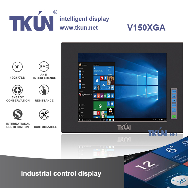 <font><b>15</b></font> inch industrial <font><b>touch</b></font> <font><b>screen</b></font>,Automation equipment <font><b>touch</b></font> terminal,Shockproof antimagnetic anti V150XGA image