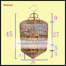 1Set Old bamboo thrush bird cage 28,33,36CM starling scorpion