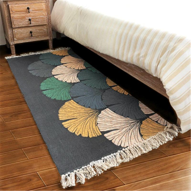 70X160cm Cotton Creative Design Soft Carpets For Living Room Bedroom Carpet Home Rug Floor Door Mat Area Rugs Bedroom Simple Mat