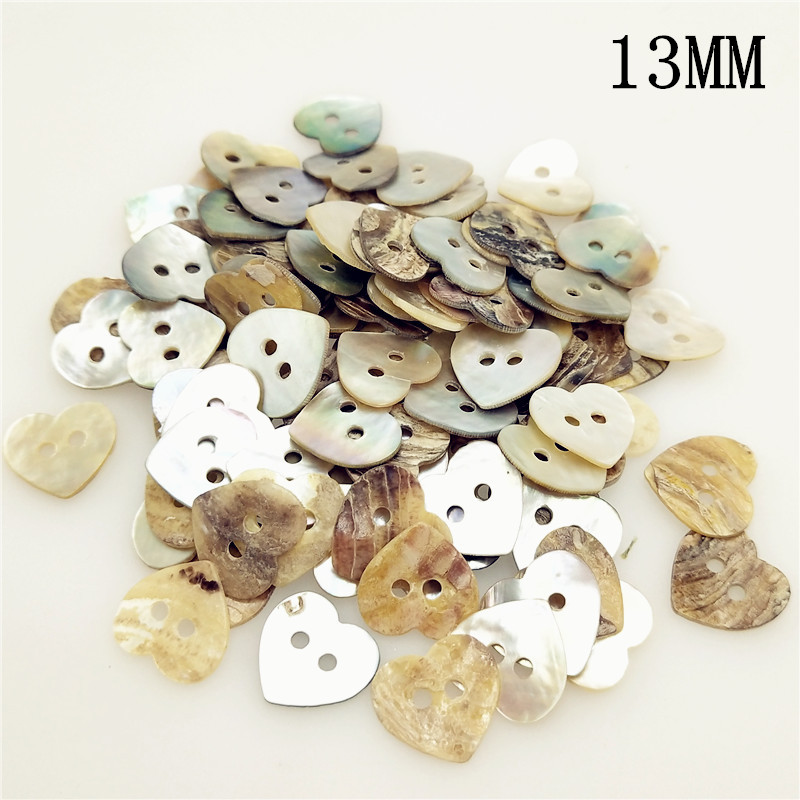 12//15mm Black Shell Mother of Pearl Buttons Mixed Sewing Knitting Doll Connector