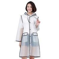 Yuding Transparente Mulher Capa De Chuva Casaco Para As Mulheres Universal Claras Impermeáveis capa de Chuva Com Capuz Caminhadas Rainwear Poncho Com Capuz Capas de chuva     -