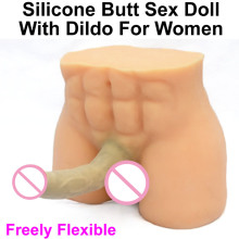 4.7kg Silicone Ass Dildo Sex Doll For Women Big Butts with penis for Lesbians sex product